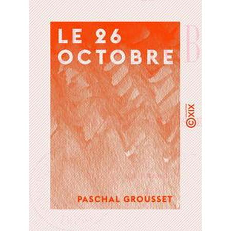Le 26 Octobre - eBook - Le 31 Octobre Halloween