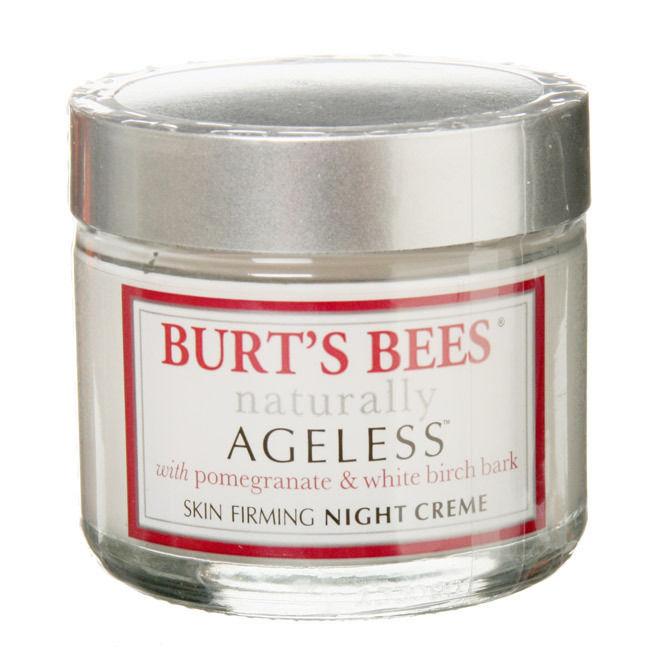 Burt's Bees Naturally Ageless Hydrating Night Cream, 2 Ounces