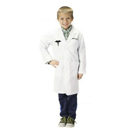 White Doctor's Coat (Doctor Lab Coat, Size 4/6)