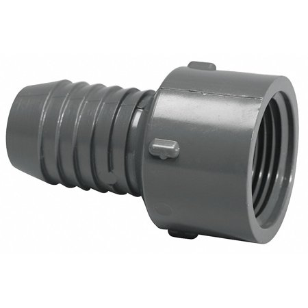 Lasco PVC Female Adapter, Insert x FNPT, 1-1/2
