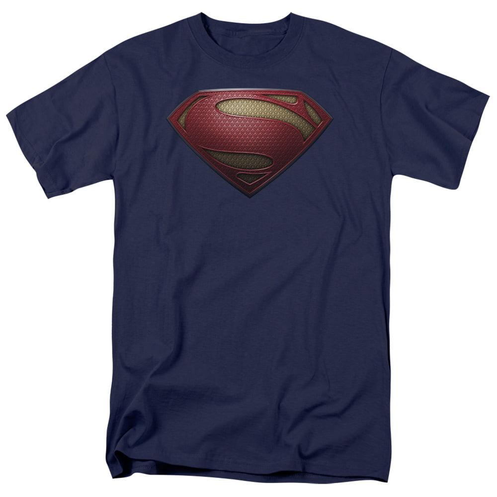Man of Steel Superman Mos Shield Mens Short Sleeve Shirt