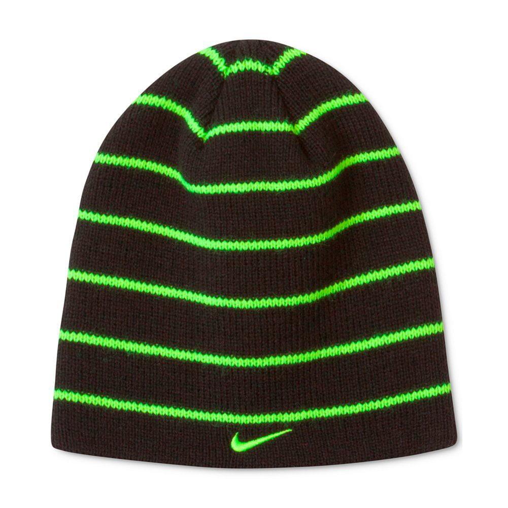 Nike - Nike Boys Youth Beanie Striped Hat Size 8 20 - Walmart.com c5587af4e0b