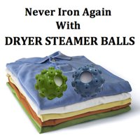 IncrediBall Dryer Steamer Balls - Set of 2