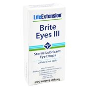 Life Extension - Brite Eyes III Sterile Lubricant Eye Drops - 2 Vial(s)