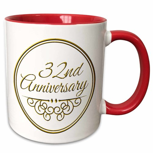 43rd Wedding Anniversary Gifts: The Party Aisle 32nd Anniversary Gift Text For Celebrating