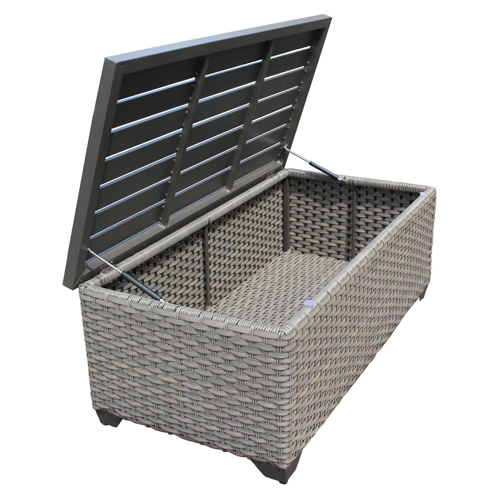 TK Classics Florence Outdoor Storage Coffee Table by TK Classics