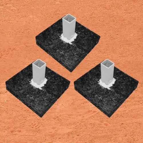 Base Anchor Foundation - Set of 3