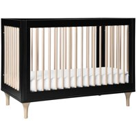 Babyletto Lolly 3-in-1 Convertible Crib with Toddler Rail, All White