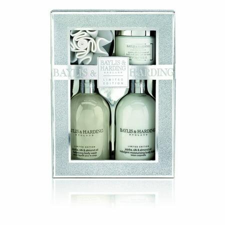 Baylis & Harding Jojoba Silk and Almond Oil Benefit Gift (Baylis And Harding Royale Bouquet Gift Set)
