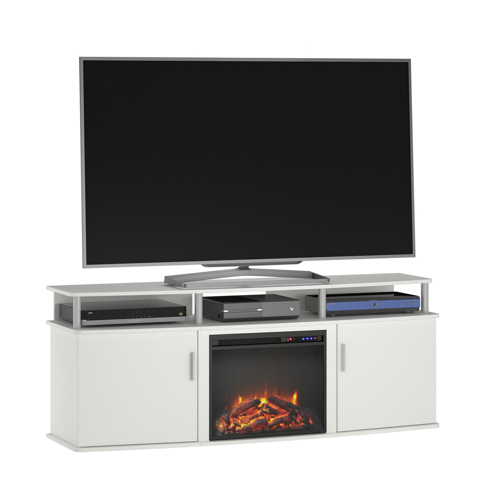 Ameriwood Home Carson Electric Fireplace TV Console for TVs up to 70\ by Electric Fireplaces