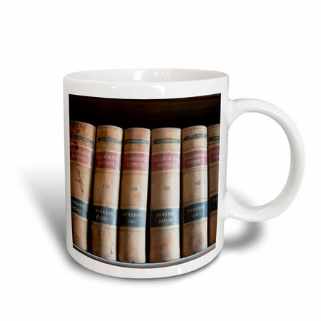 3dRose Law books in library Virginia City, Nevada, USA - US29 MDE0053 - Michael DeFreitas, Ceramic Mug, 11-ounce - Party City In Virginia