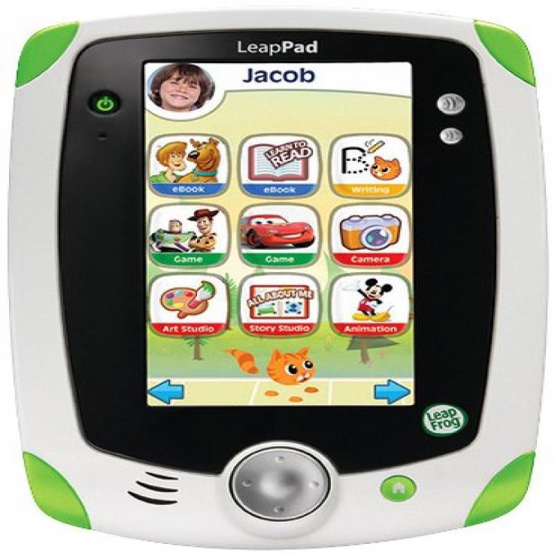 LeapFrog LeapPad1 Explorer Learning Tablet, green by