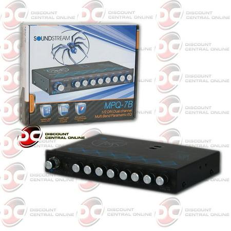 Brand New Soundstream MPQ-7C Car 7-Band Parametric Equalizer With Subwoofer Level Control
