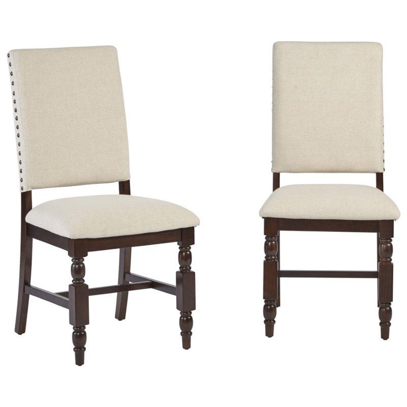 Progressive Sanctuary Dining Side Chair in Cherry (Set of 2) - image 3 de 3