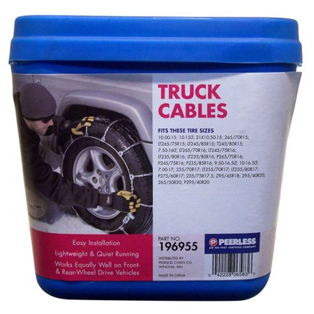 Peerless Chain Auto Trac Light Truck Suv Tire Chains