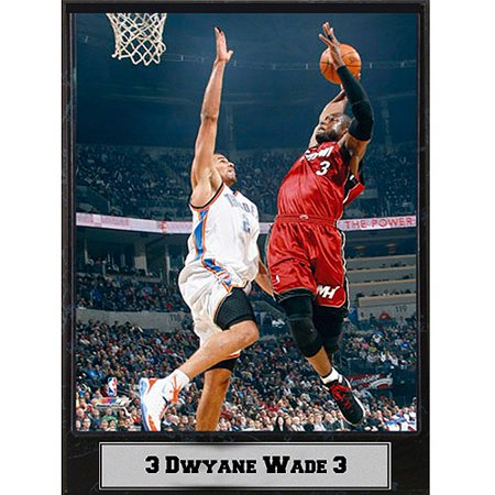 NBA Dwayne Wade Photo Plaque, (Dwayne Wayne)