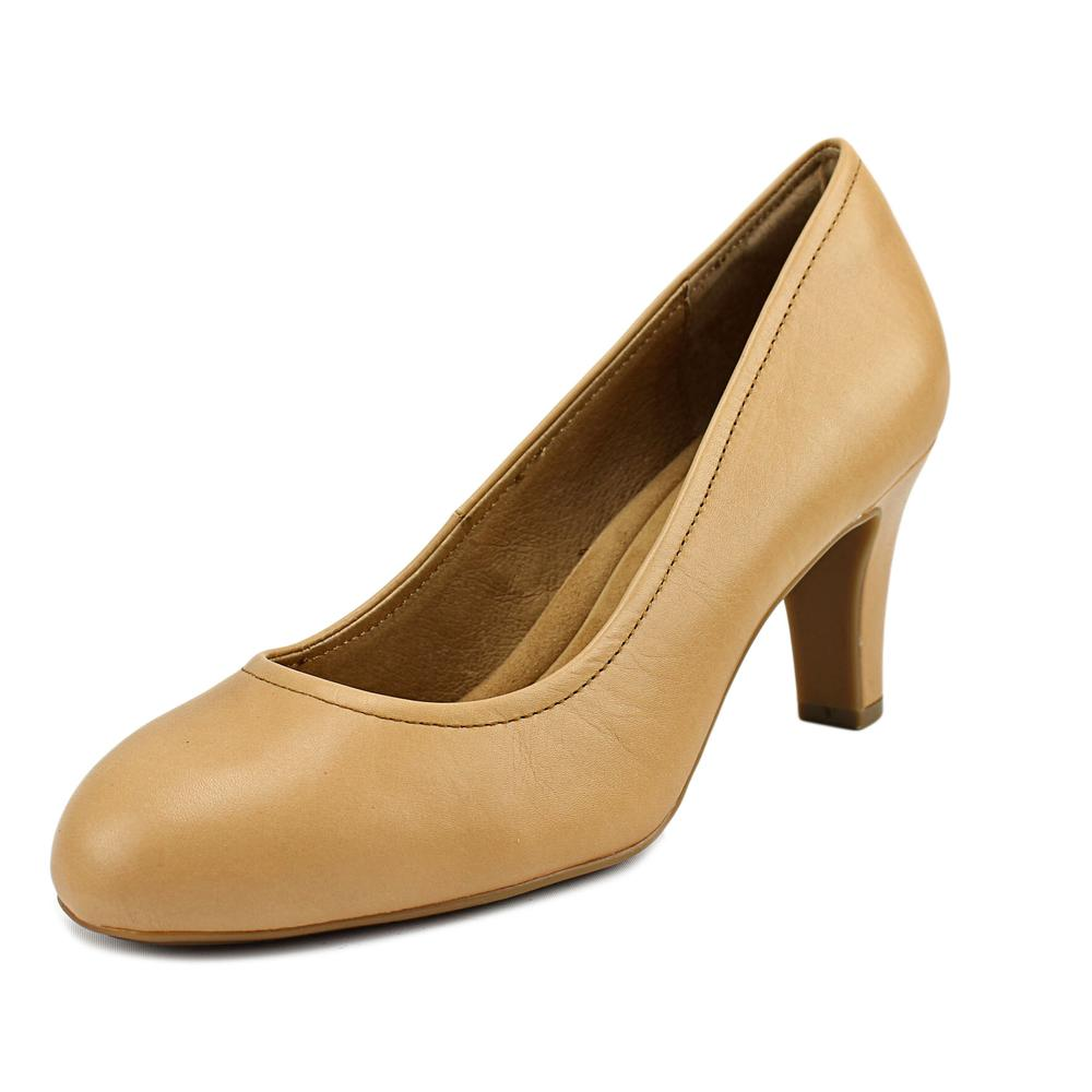 Sofft Turin Round Toe Leather Heels by Sofft