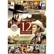 12-Movie Westerns ( (DVD)) by PLATINUM DISC CORP (DO NOT USE