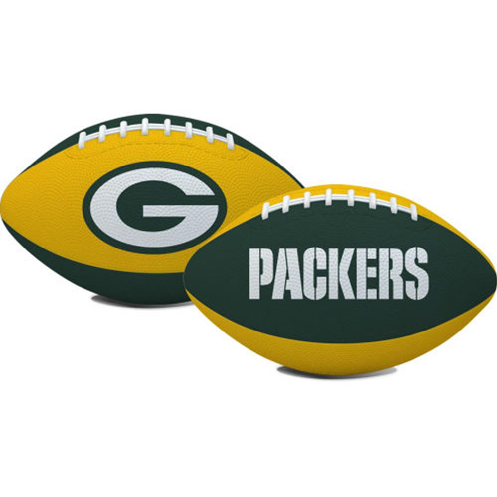 Green Bay Packers Official NFL Youth Football Hail Mary by Licensed Products 717103 by Licensed Products