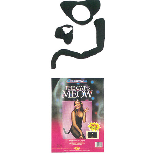 Instant Cats Meow Kit Adult Halloween Accessory