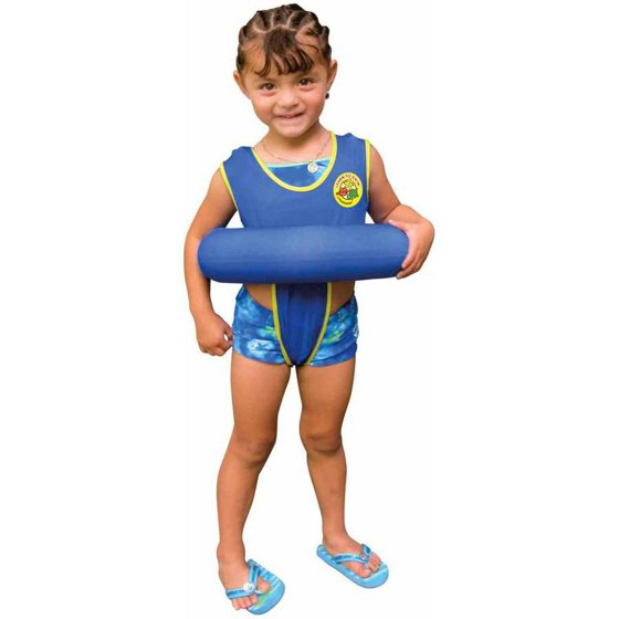 "6110992fdf9 Poolmaster Blue Learn-To-Swimâ""¢ Tube Trainer - Walmart.com"