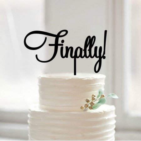 Tayyakoushi Vintage Family Silhouette Wedding Cake Topperl Bride And Groom Cake Topper Script Cake Topper Funny Wedding Cake Topper