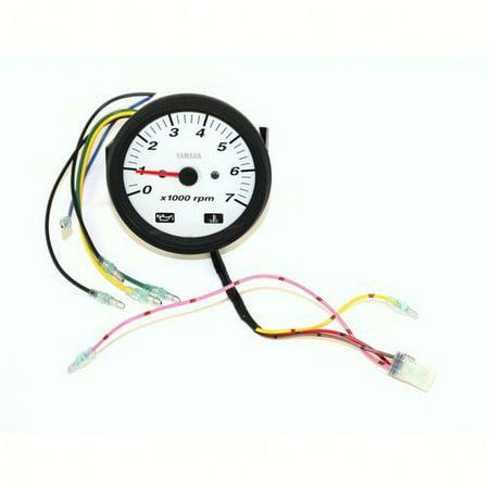 Yamaha 6Y7-83540-70-00  6Y7-83540-70-00 Pro Series II Tachometer White; New # 6Y7-83540-90-00 Yamaha V-star Tachometer
