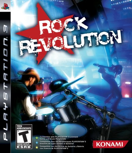 Konami Rock Revolution - Playstation 3 (konami 20176)