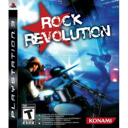 Konami Rock Revolution - Playstation 3 (konami 20176) (Six Guns Ps3)