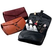 Royce Leather Hanging Toiletry Travel Bag in Genuine Leather