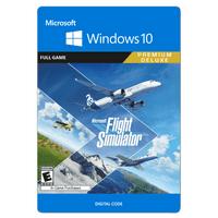Microsoft Flight Simulator: Premium Deluxe Edition, Xbox Game Studios, Win10 [Digital Download]