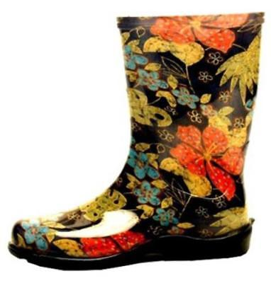 Women's Size 8 Black Print Midsummer Tall Boot