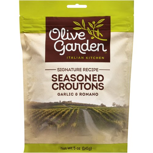 Olive Garden Italian Kitchen Garlic & Romano Seasoned Croutons, 5 oz