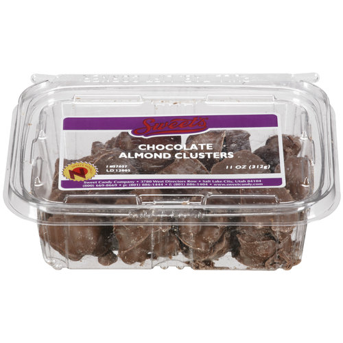 Sweet's Chocolate Almond Clusters Candy, 11 oz