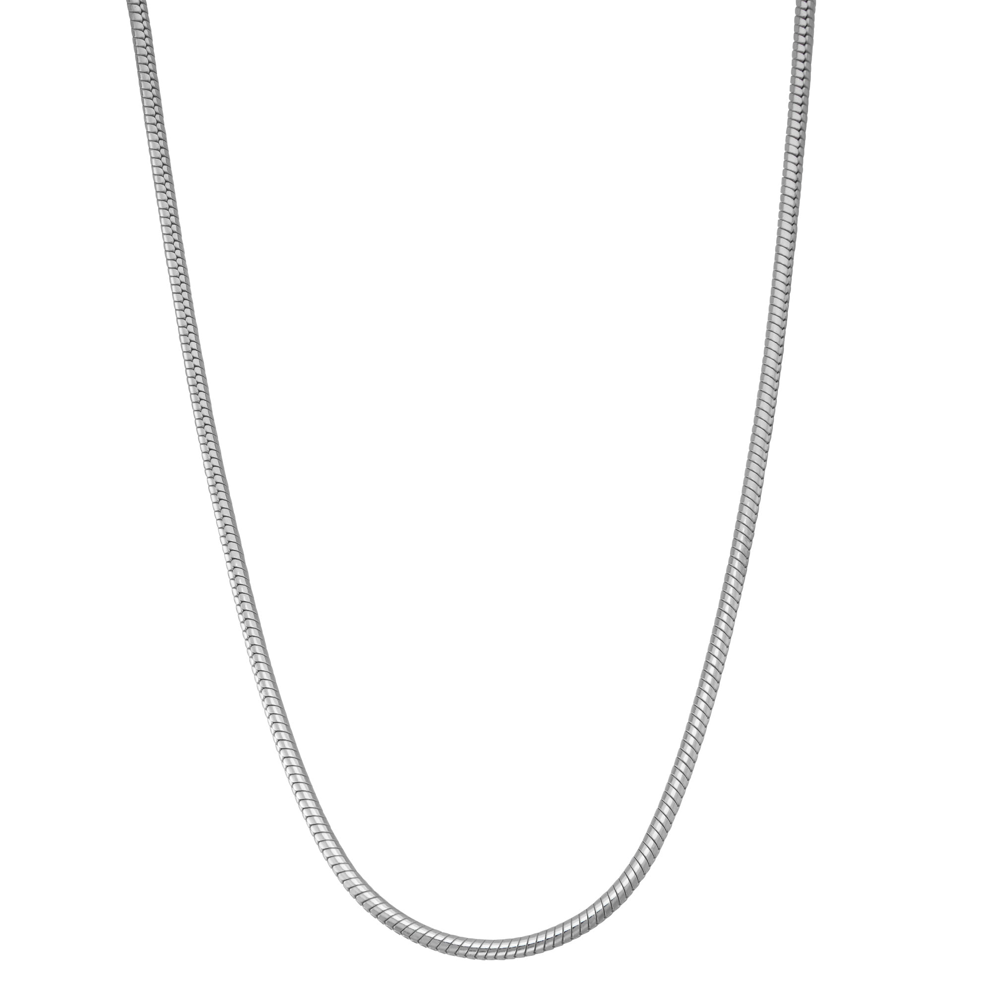 FREE SHIPPING-Sterlin Silver Neckalce,Rolo Style Chain Necklace For Men,Men/'s Sterling Silver Necklace,Men/'s Jewelry,Silver Necklace For Men