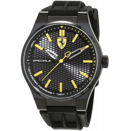 Ferrari Scuderia Speciale 3H Silicone Mens Watch 0830354