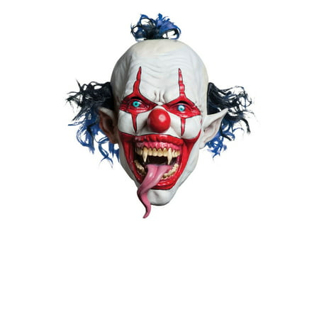 Snake Tongued Evil Clown Creepy Costume - Halloween Town Evil Guy