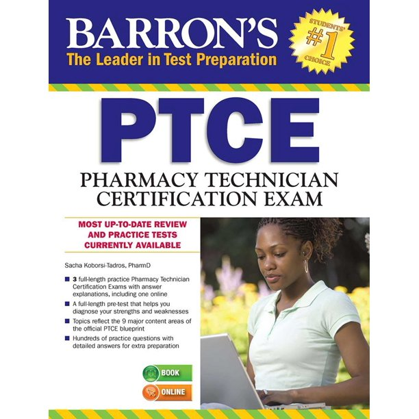 Barron's PTCE/Pharmacy Technician Certification Exam With
