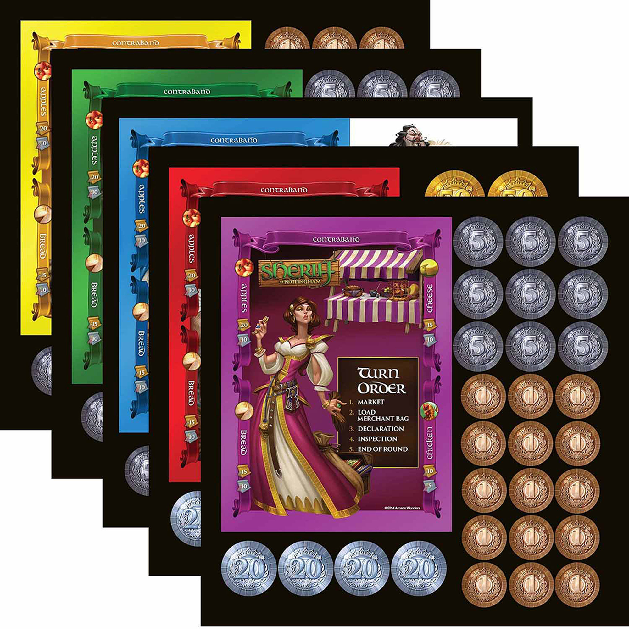Arcane Wonders Sheriff Of Nottingham Board Game Walmartcom - Board game design software