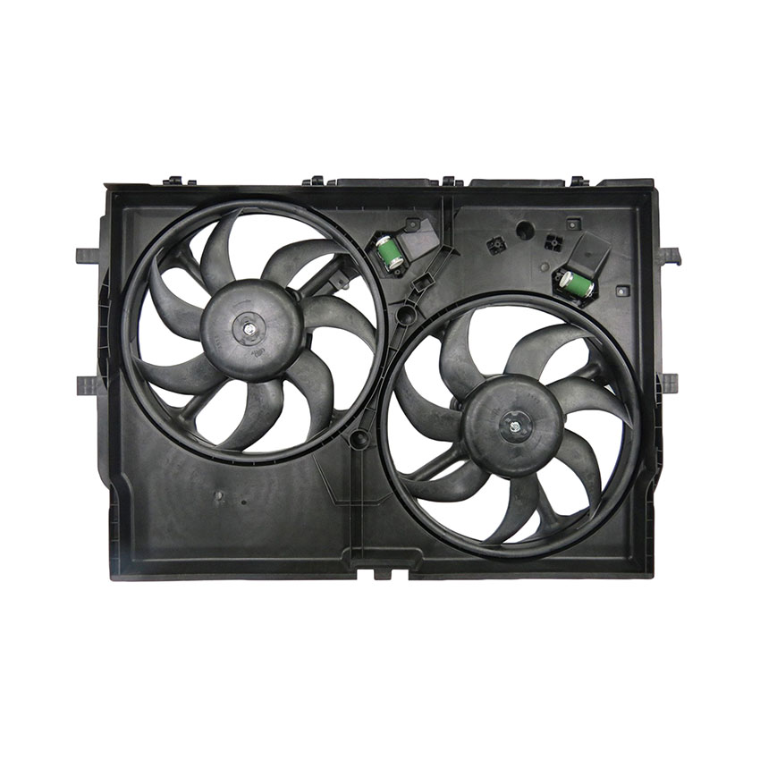 NEW DUAL RADIATOR /& CONDENSER FAN FITS RAM PROMASTER 3500 2014-2017 68189000AA