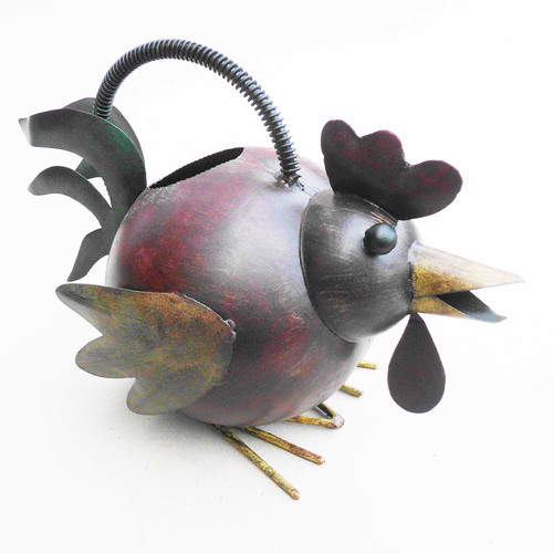 D-Art Collection Iron Rooster Watering Can by D-Art Collection