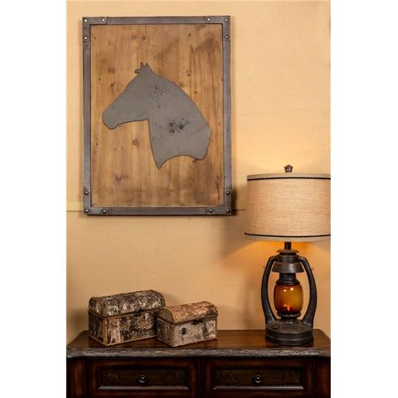 Vintage Direct Fmhorse Horse Faux Metal Wall Decor Image 1 Of