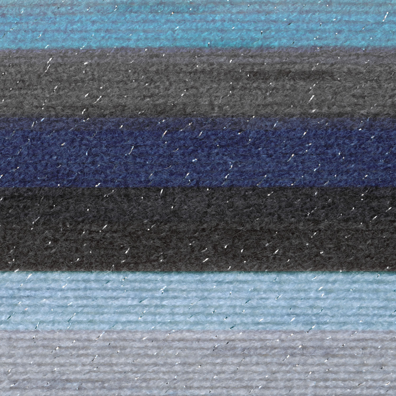 Aquarius Lion Brand Yarn 527-315 Mandala Sparkle Yarn Pack of 3 cakes