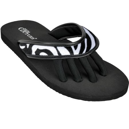 6ac885872049a Pedi Couture - PEDI COUTURE NEW Women s Wild Pedicure Spa Toe Separator  Sandal Flip Flops - Walmart.com