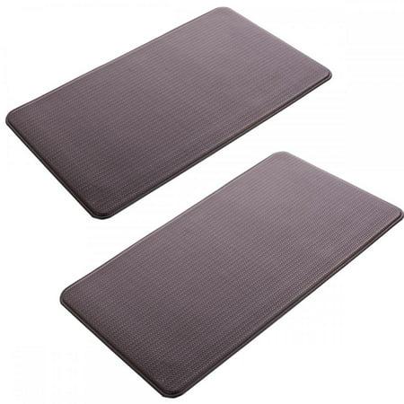 4 PCS Modern Indoor Cushion Kitchen Rug Anti-Fatigue Floor Mat 20\