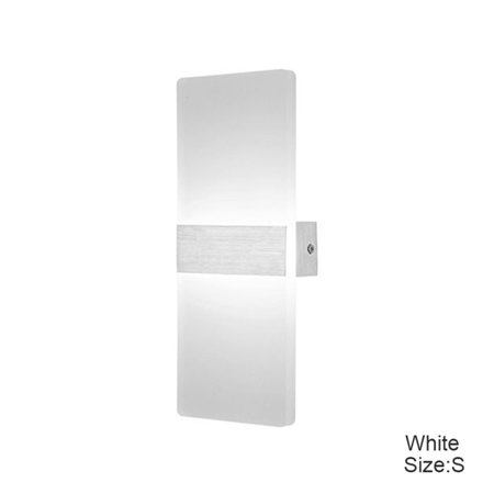 Cluxwal LED Wall Sconces Square Aluminum Lamps Decorative Lamps For Pathway Staircase Bedroom (Staircase Light Fixture)