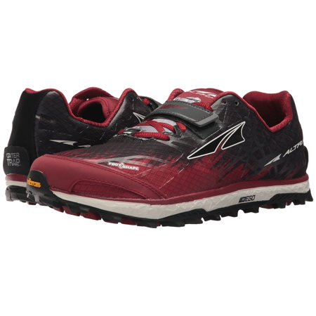 Altra Men's King MT 1.5 Lace Up Mountain Trail Running Shoes Red