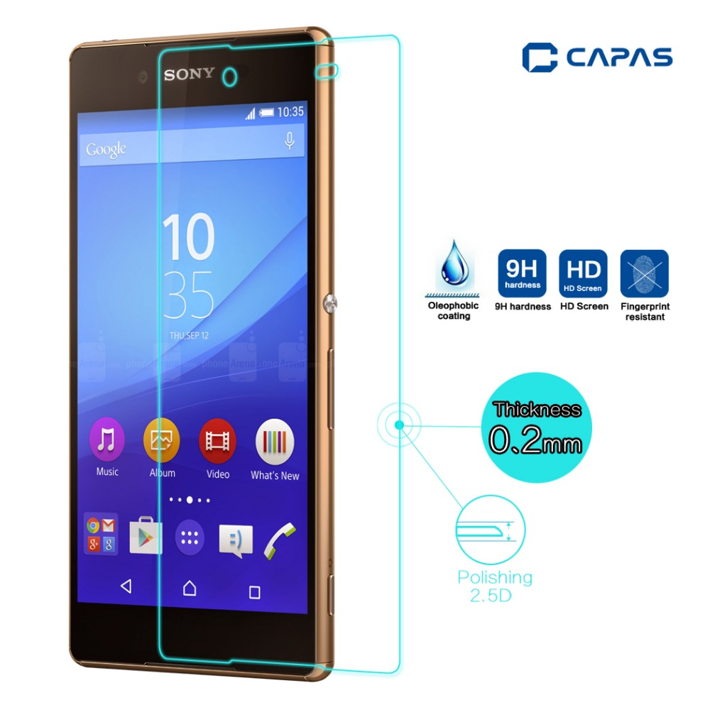 Sony Xperia Z5 Tempered Glass Screen Protector Source