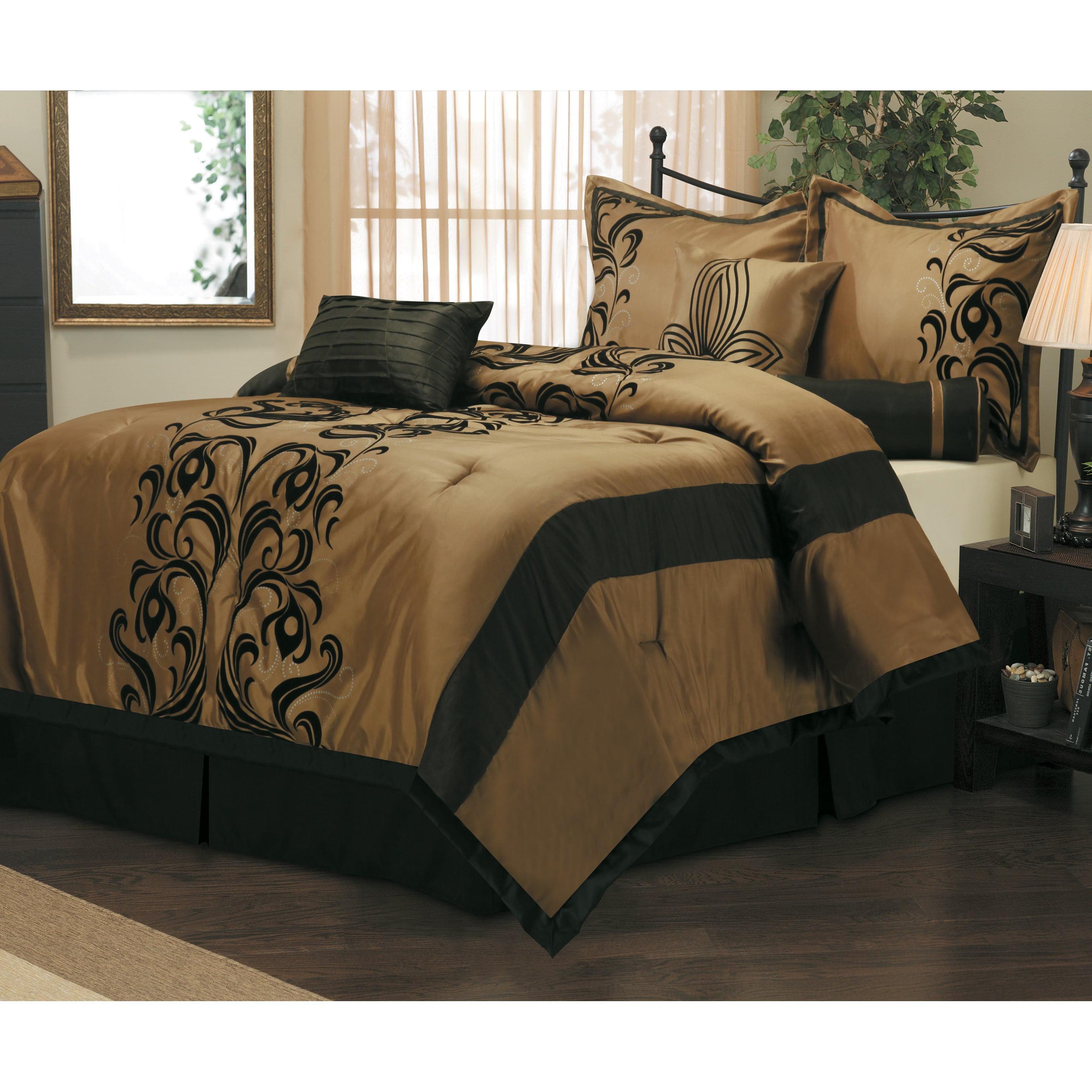 helda 7piece bedding comforter set