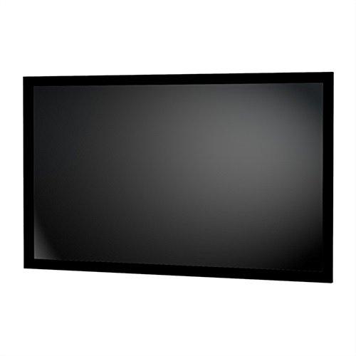 Da-Lite Parallax 0.8 Fixed Frame Projector Screen 28846V 106 inch Diagonal (52x92) [16:9] 0.8 Gain by Da-Lite
